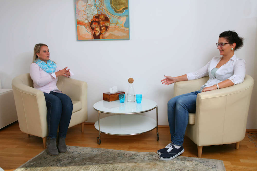 Entlastungsgespräch